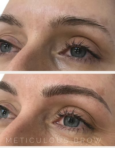 feather touch eyebrows