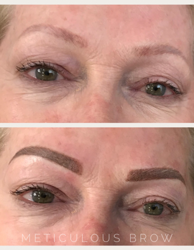 powder eyebrow cover-up