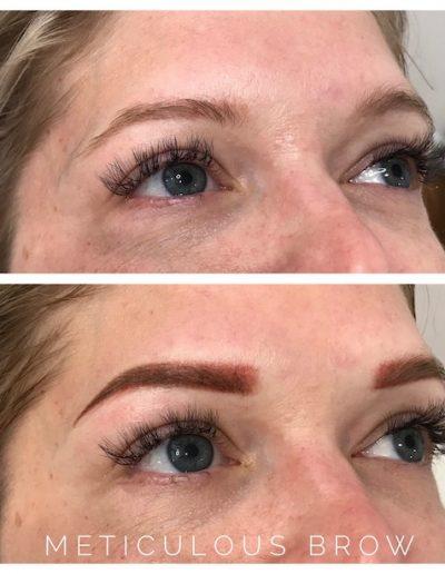 eyebrow tattoo correction