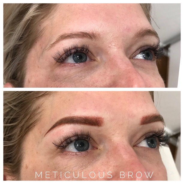 eyebrow tattoo correction | Meticulous Brow