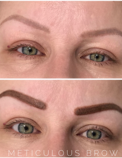 powder brow cover-up